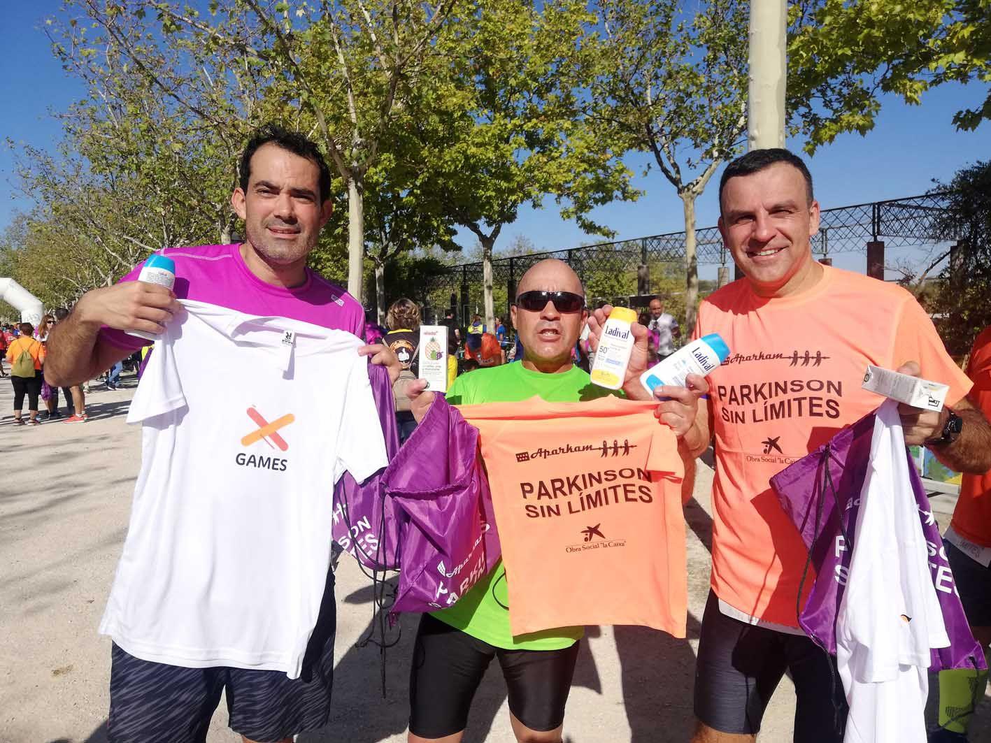 Nuevo éxito de corredores  y solidaridad en la Carrera Párkinson Sin Límites