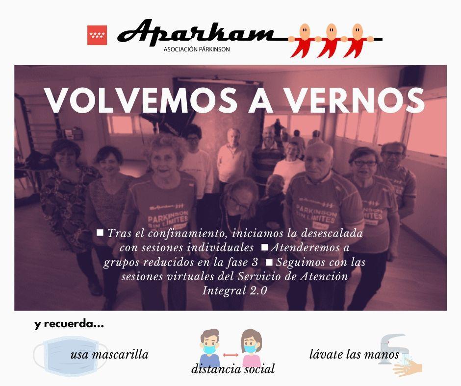 Aparkam comienza su desescalada con la reapertura en Leganés